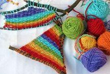 Tessitura varia - Weaving stuff