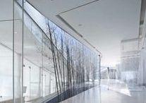 GLASS | wall inspiration