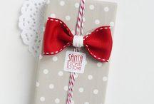 Giveaway / Ajándék csomagolása