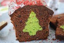 Recettes en rouge & vert / On le sait bien, on vous manque terriblement en hiver... Patientez avec des suggestions de recettes en rouge & vert !