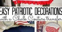 Patriotic Crafts and Recipes