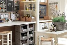 Craft Rooms and Fun Storage