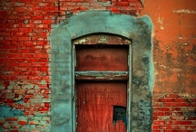 doors / Doors, portals, windows, gates, ...all unique / by Erica Whitters