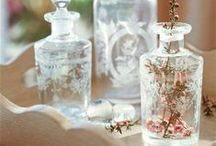 Bouteilles d' Enchantement ~ The Magick of light, lotions, potions, oils and such, and that which contains them / by Angel