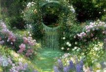 The Entry to the Garden ~ / by Angel