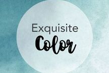 Exquisite Color / Color the world with mood inspiring imagery...