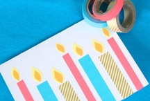 artsy paper stuff / cards, stamping, calligraphy inspiration. plus printables and things.. / by Erica Whitters