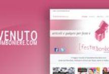 Bomboniere / Le nostre bomboniere le puoi trovare sul sito www.festeebomboniere.com