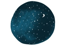 the moon, the stars / the moon is my favorite :)