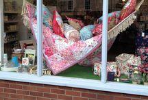 Daisy Park window displays