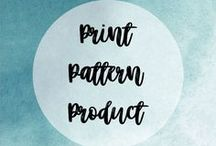 Print, Pattern, Product! / Amazing prints on amazing products