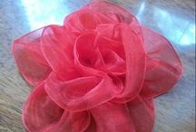 All Things Flowers & Bows / Flowers-Bows-Medallions-Pom Poms / by Dawn Costner