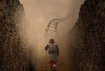 The Road less Traveled / by Angel