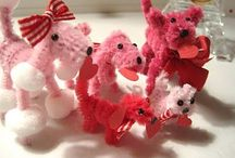 Chenille Characters / by Dawn Costner