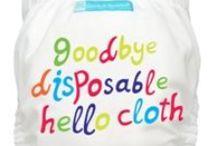 Real nappies - easy, affordable, cute! / Real nappies - reusable nappies - cloth nappies - washable nappies - Plush Pants