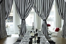 Black and White Ideas / Unique and creative event decor ideas selected by B Lee Events, a NYC Party and Event Planning Company.