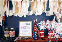 Fabulous 4th of July / Creative ideas for Fourth of July parties.  Designed by B Lee Events, a NYC Party and Event Planning Company.