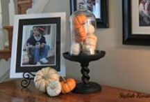 Fall Decor / Simple ideas for Fall decorating.