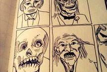 Eu e Nanquim / my drawings :)