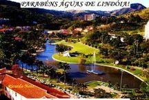 Águas de Lindoia- São Paulo-Brasil / cidade turística nas montanhas, com água mineral.