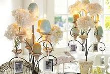 Easter Chic / It's April already! The Spring holidays are almost upon us.  Enjoy some of these adorably chic Easter party ideas