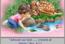 Jehovah God Is The Creator of all things......Rev 4;11 ⬅️ Read / This page is about how god made all things his name being Jehovah as found at psalms 83;18 read it in your own bible to see ,creation is awesome size,look,color,shape,kind animal,human,insect.....ect ,ect ,ect..... Enjoy / by Armando Herrera