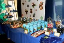 Skylander Birthday Party / Children's Birthday Party held in New York City. Skylander Theme designed by B Lee Events, a NYC Party and Event Planning Company.