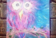 Acrylic and oil paintings portfoliо by Strelnikova Julia / Acrylic paintings on canvas - StrJulia http://vk.com/strelnikova.julia