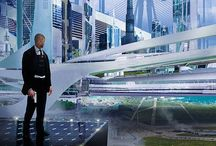 Futurism / Futuristic buildings, technology, and cars / by Victorian Android