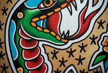FLASH/ TRADITIONAL TATTOO / pinturas, dibujo, diseño