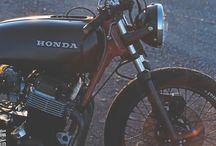 Motos/ Motorcycles. / #Motos, #bratstyle, #scrambler, #caferacer