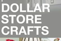 Craft Ideas: Only Dollar Store Craft Ideas / Get all your craft supplies at the dollar store for these great craft ideas.