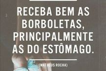 """THE BEST ∞ Biscoito da Sorte / """"Eu quase que nada não sei. Mas desconfio de muita coisa."""" Guimarães Rosa"""
