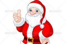 Santa Claus / Санта Клаус, Дед Мороз, Снегурочка  костюмы, идеи