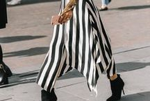 Stripes / // stripes, style, stylist, inspiration, how to wear, what to wear, nautical, sailor, AW16, SS, Autumn, Winter, Spring, Summer, striped, trousers, jacket, top, shoes, skirt, trainers //