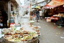 International Street Food / Eat like a local. Here's sights, recipes and locations (but sadly, not the smells) of glorious street food around the world.