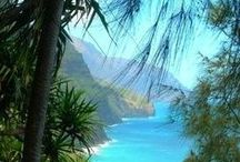 Travel to Hawaii / It's actually Fantasy Island(s). Hawaii is paradise on earth.