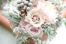 Wedding Flowers / Summer, Winter, Spring, Rustic, Blue, Pink, White, Fall, Wildflowers