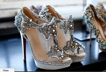 Ornaments for Feet / Beautiful shoes both practical and imaginative, I love shoess! The more the merrier! / by Betty Timbo Bespoke Vintage Castle