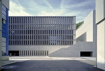 Architecture / Great buildings by great architects. The beauty of rationality, logic and simplicity.