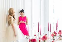 Bridal Showers / The elegant and sophisticated send off into marital wedded bliss; For the bride to be!