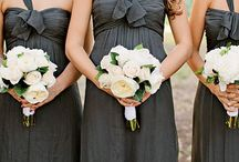 Bridesmaids in Grey
