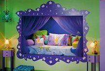 ♥Kid's Rooms♥ / Fantastic kid's rooms. / by Marian Bentz