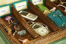 Opbevaring og organisering