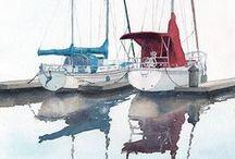 Art : mer et bateaux / by Patricia Mantin