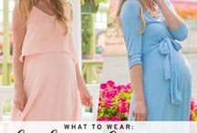Baby Shower Style / What to wear to your baby shower