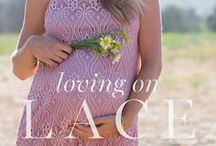Crochet and Lace / Stylish maternity clothes with touches of delicate lace and crochet detailing