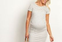 Stripe a Pose / A classic print that will forever be in style. A collection of the best striped maternity clothes.