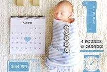 Introducing Your Baby / Introduce your baby to the world in these cute, unique ways!
