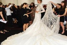 Runway Bride / Love those Runway Brides! High fashion designer wedding dresses for the fashion conscious Bride